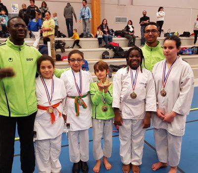 Coupe Départementale Karaté PPB (Combat) à Saint-Étienne-de-Crossey